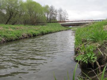 Предпоследний мост перед Минским морем